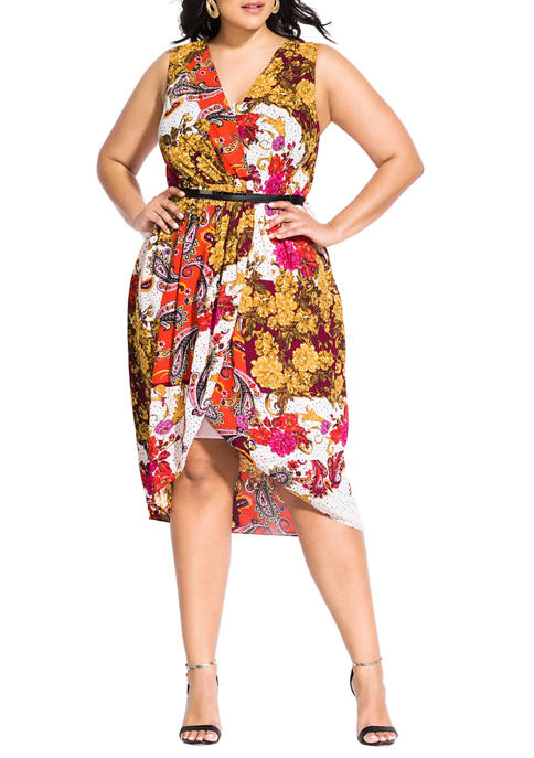 City Chic Plus Size Opulence Dress