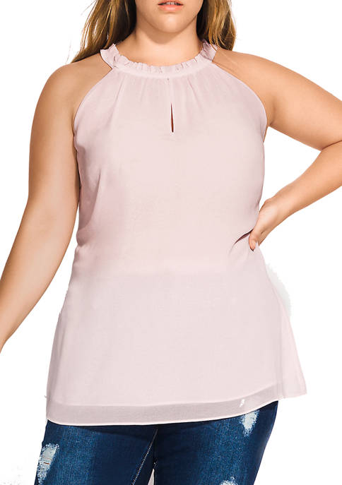 City Chic Plus Size Love Bite Top