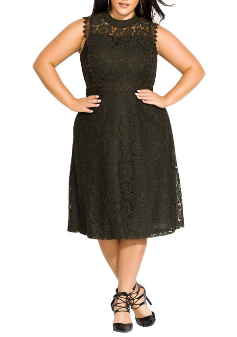 Plus Size Grazia Dress