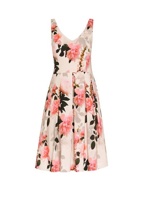 Plus Size Soft Blossom Dress