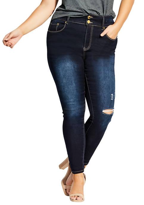 Plus Size Asha Classic Jeans