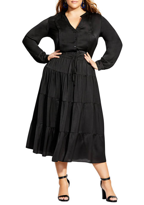 City Chic Plus Size Charisma Midi Dress