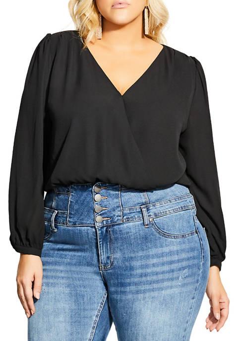 Plus Size Secret Bodysuit