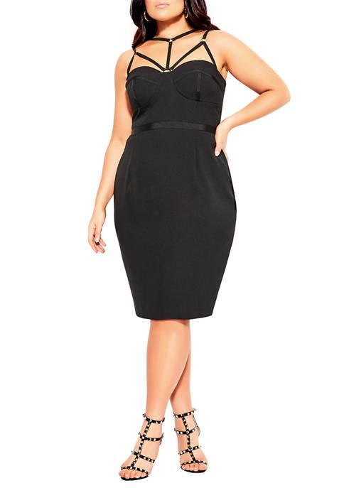 City Chic Plus Size Audacious Dress