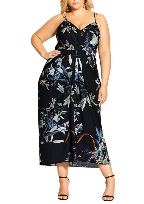 Plus Size Moonlight Maxi Dress