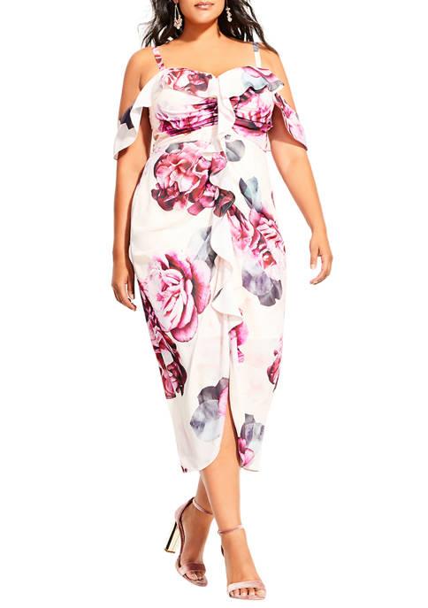 Plus Size Vintage Blooms Dress