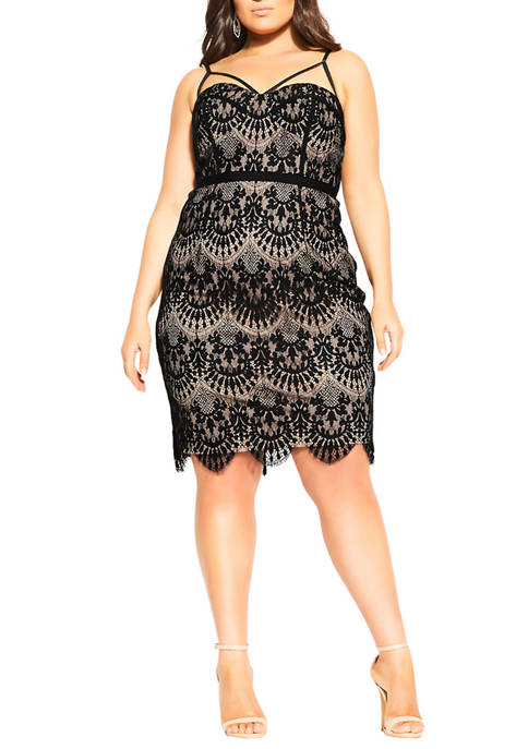 City Chic Plus Size Brianna Dress