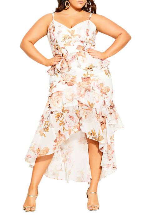 Plus Size Rosa Bloom Dress