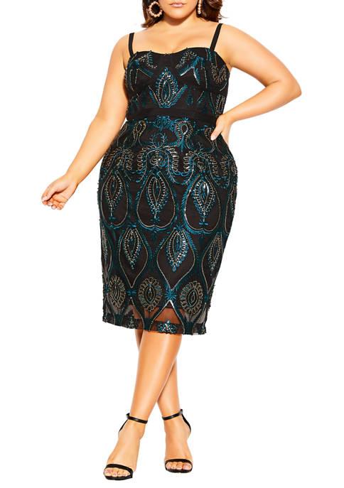 City Chic Plus Size Exquisite Dress