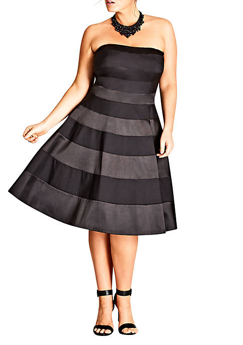 City Chic Plus Size Miss Shady Black Fit