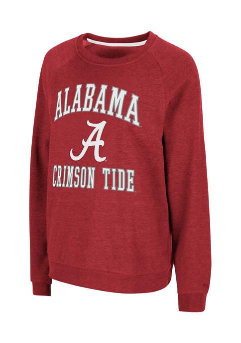 Colosseum Athletics NCAA Alabama Crimson Tide Genius Crew