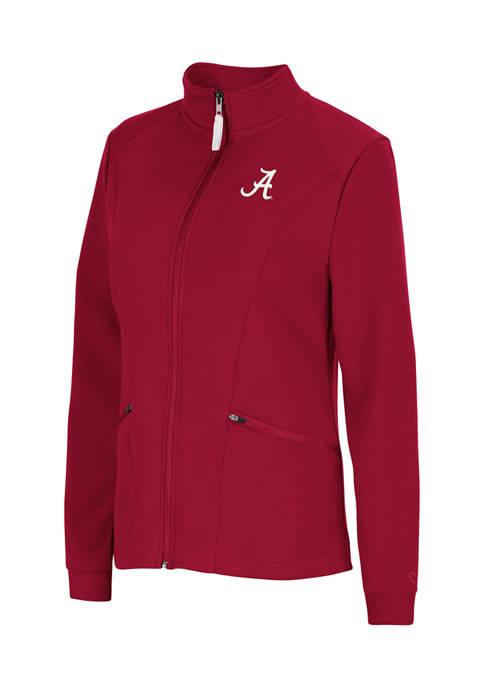 Colosseum Athletics NCAA Alabama Crimson Tide Full Zip