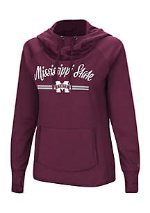 Mississippi State Bulldogs Funnel Neck Hoodie