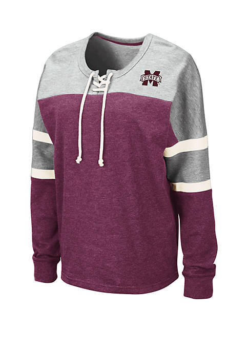 Colosseum Athletics NCAA Mississippi State Bulldogs Manolo Lace