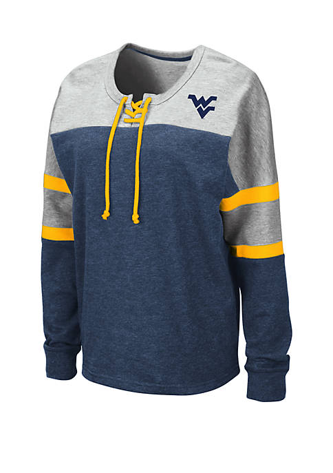 Colosseum Athletics NCAA West Virginia Mountaineers Manolo Lace
