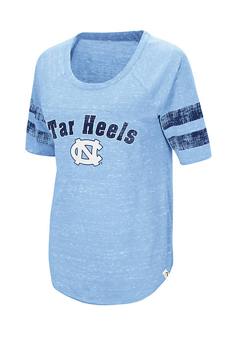 Colosseum Athletics UNC Bean Rabbit Raglan Tee