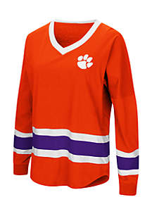 Clemson Tigers Marquee Players Oversized Long Sleeve Tee