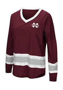Mississippi State Bulldogs Marquee Players Oversized Long Sleeve Tee