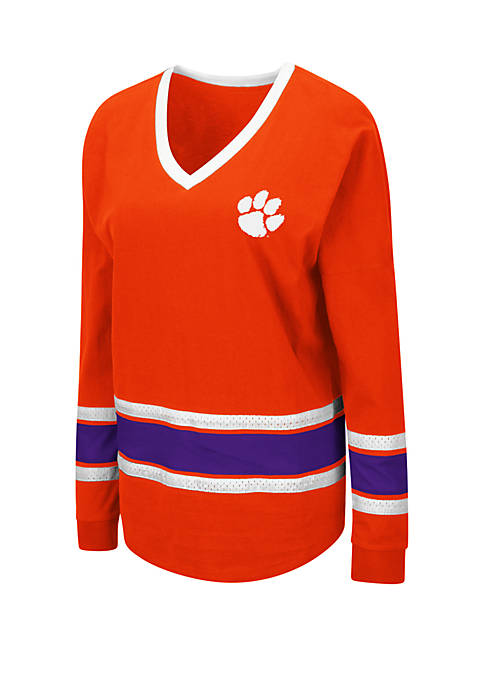 Colosseum Athletics Clemson Tigers All Righty Long Sleeve