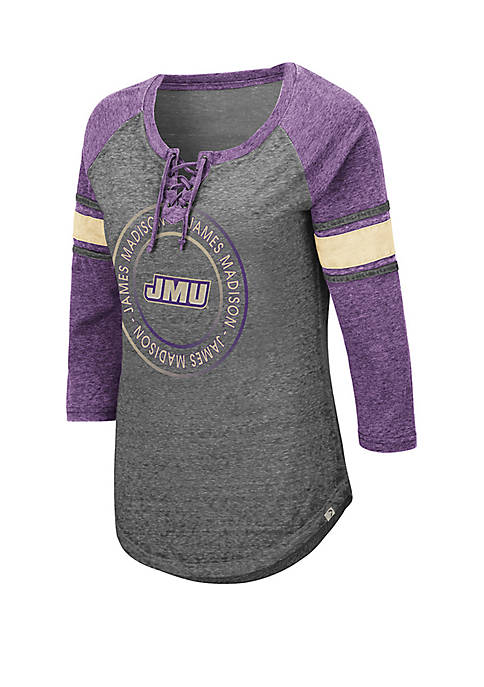 Colosseum Athletics James Madison Dukes Carrie Lace Up