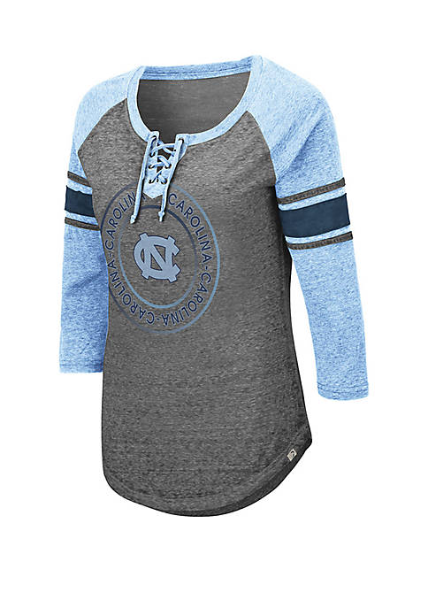 Colosseum Athletics UNC Tar Heels Carrie Lace Up
