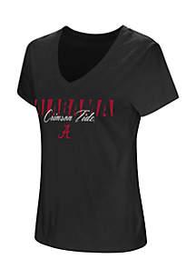 Short Sleeve Alabama League Of Their Own V-Neck Tee