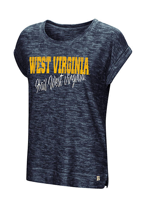 Colosseum Athletics Short Sleeve West Virginia Here It