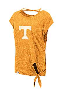 Colosseum Athletics Tennessee Volunteers Como Tie Front Tee