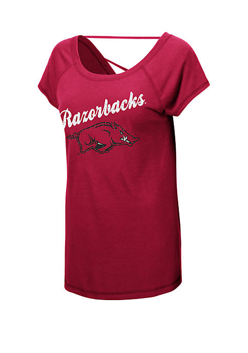 Colosseum Athletics NCAA Arkansas Razorbacks Bold Gestures Short