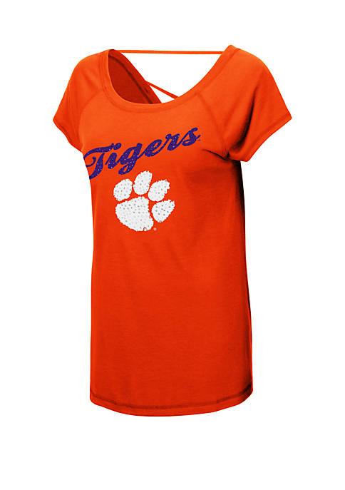 Colosseum Athletics NCAA Clemson Tigers Bold Gestures Short