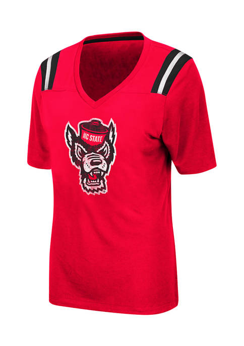 Colosseum Athletics Womens NCAA NC State Wolfpack Distressed