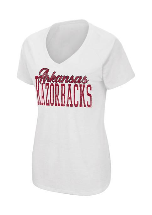 Colosseum Athletics Womens NCAA Arkansas Razorbacks Science Guy