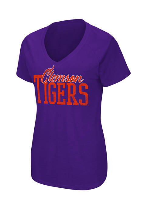 Colosseum Athletics Womens NCAA Clemson Tigers Science Guy
