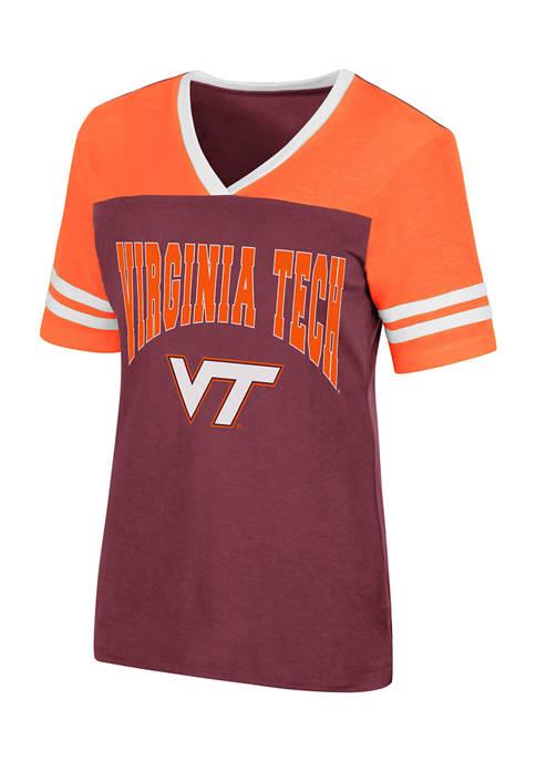 Colosseum Athletics NCAA Virginia Tech Hokies Kick Flip