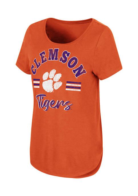 Colosseum Athletics NCAA Clemson Tigers Shaka Short Sleeve