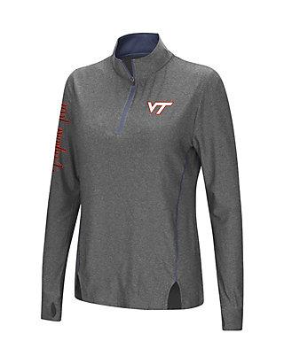 the latest 2da62 9f12c Virginia Tech Hokies Vizzini 1/4 Zip Pullover