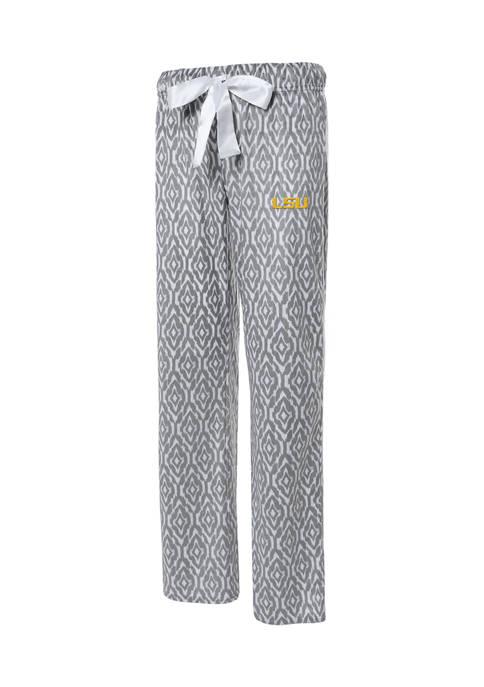 NCAA LSU Tigers Silky Fleece Pants