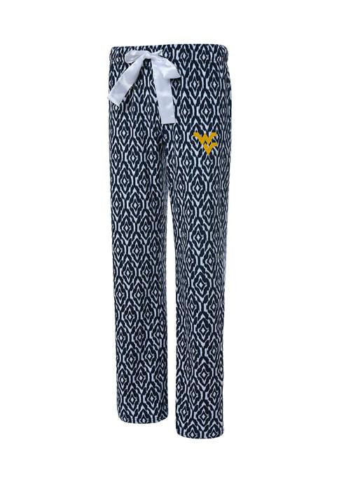 NCAA West Virginia Mountaineers Silky Fleece Pants