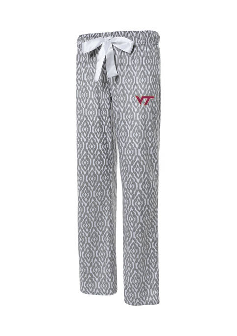 NCAA Virginia Tech Hokies Silky Fleece Pants