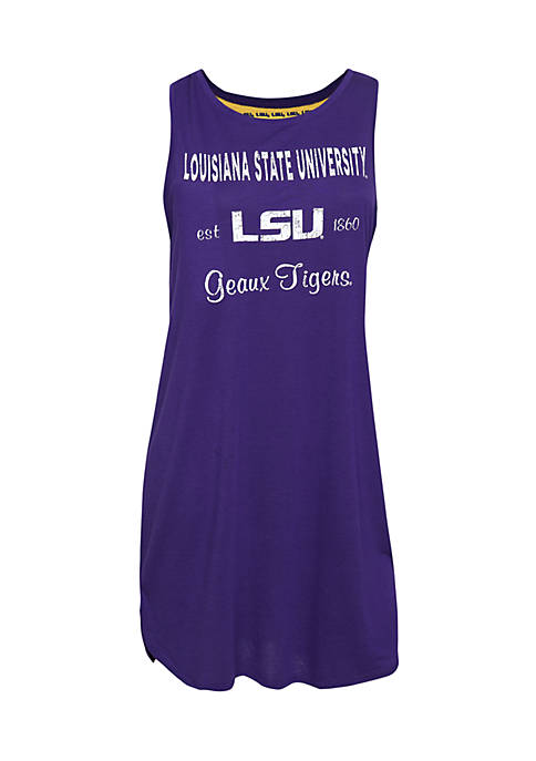 Concepts Sport LSU Tigers Tempo Night Shirt
