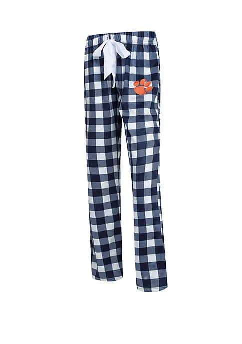 Concepts Sport NCAA Clemson Tigers Promenade Fleece Pants
