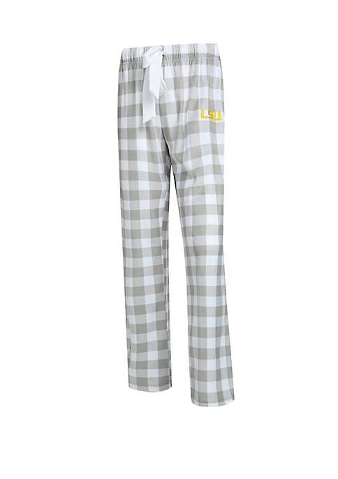 Concepts Sport NCAA LSU Tigers Promenade Fleece Pants