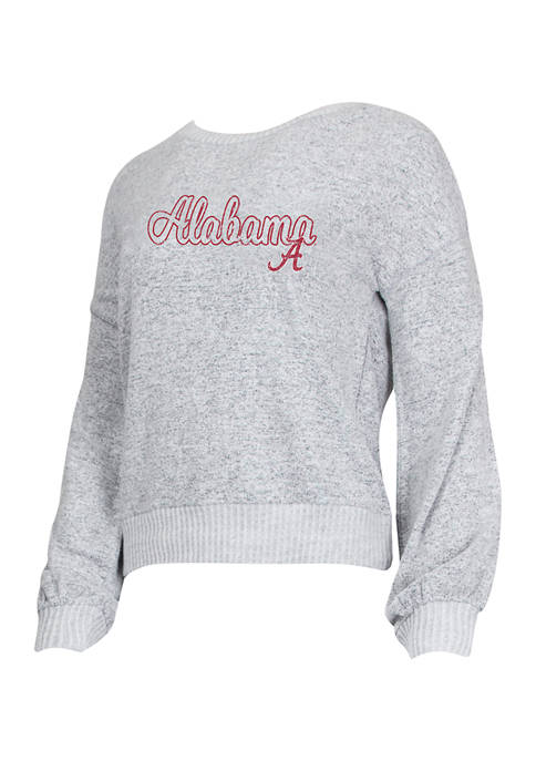 Concepts Sport NCAA Alabama Crimson Tide Venture Sweater
