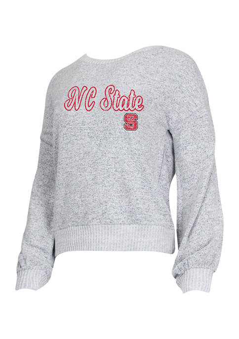NCAA NC State Wolfpack Venture Sweater Knit Long Sleeve Top