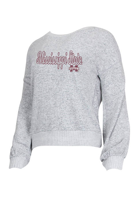 Concepts Sport NCAA Mississippi State Bulldogs Venture Sweater