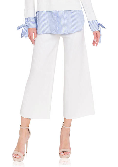 ENGLISH FACTORY Womens Sweater Pants