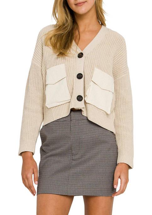 ENGLISH FACTORY Womens Check Mini Skirt
