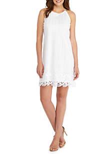 Sleeveless Lace Cord Dress