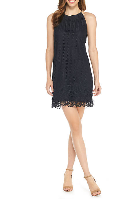 THE LIMITED Sleeveless Lace Cord Dress
