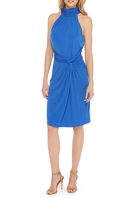 THE LIMITED Sleeveless Mock Neck Dress